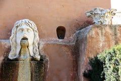 Giardini di Farnesina della villa a Roma fotografia stock libera da diritti