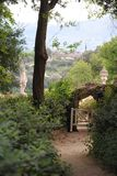 Giardini di Florens Fotografie Stock Libere da Diritti