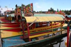Giardini di galleggiamento Xochimilco - nel Messico Fotografia Stock Libera da Diritti