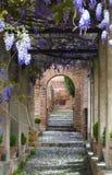 Giardini di Generalife immagini stock libere da diritti