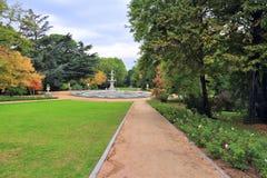 Giardini di Madrid Sabatini Immagine Stock