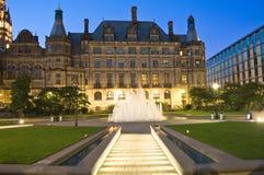 Giardini di millennio di Sheffield Fotografie Stock Libere da Diritti