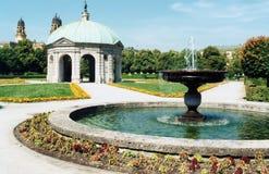 Giardini di Odeonsplatz Immagine Stock