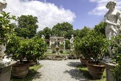 Giardini di Palazzo Pfanner a Lucca Immagini Stock Libere da Diritti
