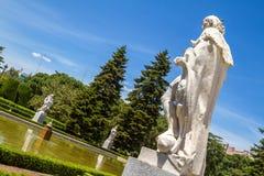 Giardini di Sabatini fotografie stock libere da diritti
