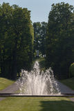 Giardini di Stoccolma Svezia del palazzo di Drottningholm Fotografia Stock