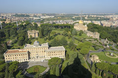 Giardini di Vatican Fotografie Stock Libere da Diritti