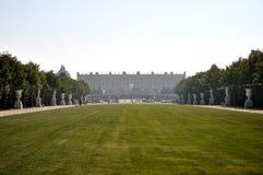 Giardini e palazzo di Versaille Immagini Stock Libere da Diritti