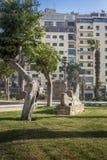 Giardini egiziani del museo, Il Cairo, Egitto fotografia stock