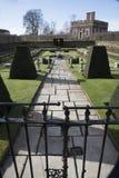 Giardini geometrici immagini stock