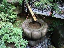 Giardini giapponesi con lo stagno Portland O Fotografia Stock
