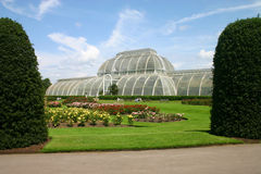 Giardini Inghilterra di Kew della Camera di palma Fotografia Stock Libera da Diritti