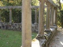 Giardini Matosinhos Portogallo di Quinta da Conceição Fotografia Stock