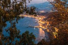 Giardini_Naxos Fotografia Stock Libera da Diritti