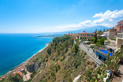 Giardini-Naxos Royalty Free Stock Photos