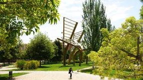 Giardini Nou Barris Immagini Stock Libere da Diritti