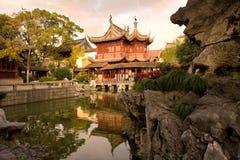 Giardini pubblici del giardino di Yuyuan immagini stock