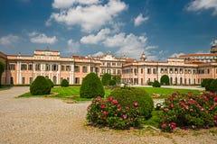 Giardini pubblici del palazzo di Estense, a Varese fotografia stock libera da diritti