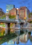 Giardini pubblici di Boston Fotografie Stock Libere da Diritti