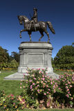 Giardini pubblici di Boston Immagini Stock Libere da Diritti
