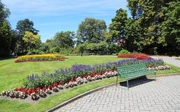 Giardini pubblici di Oamaru immagini stock