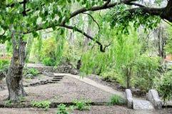 Giardini pubblici di Oamaru, Nuova Zelanda fotografia stock