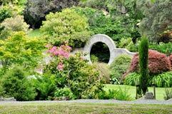 Giardini pubblici di Oamaru, Nuova Zelanda fotografia stock libera da diritti