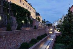 Giardini pubblici nei terrazzi del sud Immagini Stock Libere da Diritti