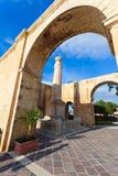 Giardini superiori di Barrakka, Malta Fotografie Stock Libere da Diritti