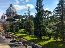 Giardini Vaticani Стоковая Фотография RF