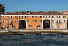 Giardini in Venice Royalty Free Stock Photography