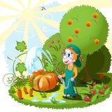 Giardiniere royalty illustrazione gratis