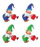 Giardiniere di Gnome Fotografie Stock