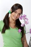 Giardiniere grazioso immagini stock libere da diritti