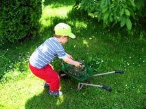 giardiniere piccolo Fotografie Stock