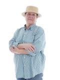 Giardiniere senior Fotografie Stock Libere da Diritti