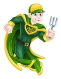 Giardiniere Super Hero royalty illustrazione gratis