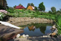Giardino acquatico fotografie stock