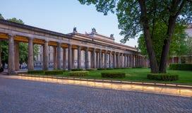 Giardino, Alte Nationalgalerie, Berlino Fotografia Stock Libera da Diritti