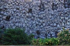 Giardino artificiale Praga di Wallenstein della parete della stalattite Fotografie Stock