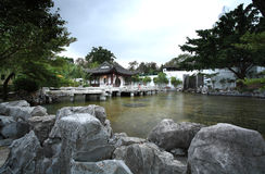 Giardino asiatico Fotografia Stock