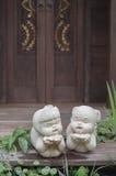 Giardino asiatico Fotografie Stock