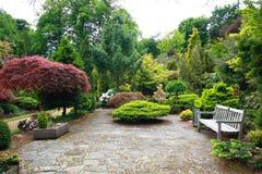 Giardino bello della sorgente Fotografia Stock