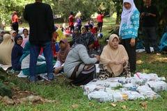 Giardino botanico in Bogor Immagine Stock