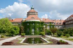 Giardino botanico di Monaco di Baviera Fotografie Stock Libere da Diritti