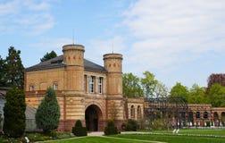 Giardino botanico a Karlsruhe fotografia stock