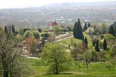 Giardino botanico, Praga, repubblica ceca Immagine Stock Libera da Diritti