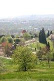 Giardino botanico, Praga, repubblica ceca Fotografie Stock Libere da Diritti