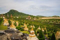 Giardino botanico tropicale di Nong Nooch immagine stock libera da diritti