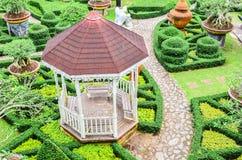 Giardino botanico tropicale di Nong Nooch Fotografie Stock